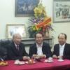 GS. Hoàng Quang Thuận chúc thọ Đại tướng Lê Đức Anh