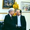 Giáo sư Hoàng Quang Thuận đến thăm và chúc thọ Đại tướng Lê Đức Anh