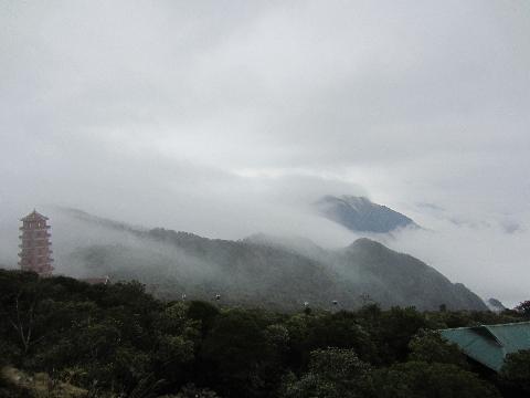 Mây núi trên vùng đất Yên Tử.