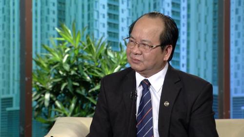 Giáo sư Viện sĩ Hoàng Quang Thuận tại buổi phỏng vấn