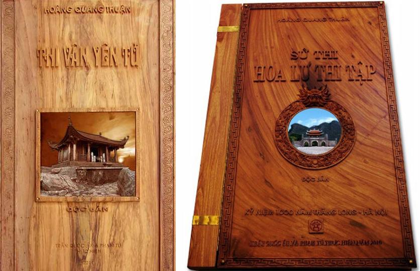 """Sách độc bản """"Thi Vân Yên Tử"""" và """"Hoa Lư Thi Tập"""" được xác lập Kỷ lục Thế giới"""