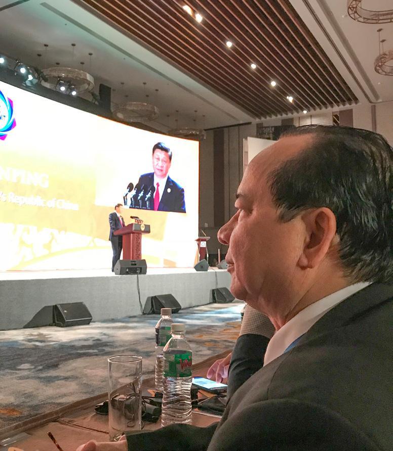 GS.VS Hoàng Quang Thuận tham dự buổi phát biểu của Tổng Bí thư kiêm Chủ tịch nước Cộng hòa Nhân dân Trung Hoa Tập Cận Bình tại Hội nghị Thượng đỉnh APEC 2017