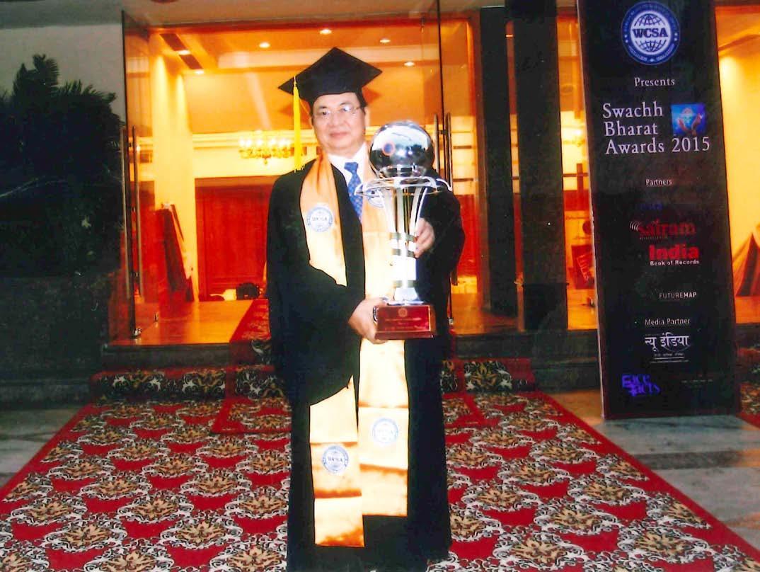 GS.VS Hoàng Quang Thuận tại Viện Hàn lâm Khoa học Sáng tạo Thế giới (3-2015)