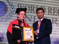 GS.Hoàng Quang Thuận là thành viên Hội đồng GS kiêm Hội đồng Cố vấn ĐH Kỷ lục Thế giới