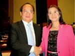 GS.TS Hoàng Quang Thuận nhận Bằng Danh dự của Quốc hội Philippines và Bằng Danh dự Đặc biệt của Thành phố Pasay