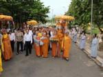 GS. TS Hoàng Quang Thuận dự Lễ cung nghênh đón rước tượng ngọc Linh sơn Thánh Mẫu núi Bà Đen